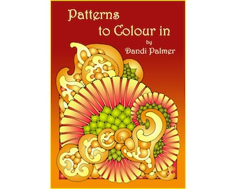 Patterns to Colour In. 62 different pages to download and print out.