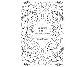A Colouring Book of Flower Patterns. 62 different pages to download and print out.
