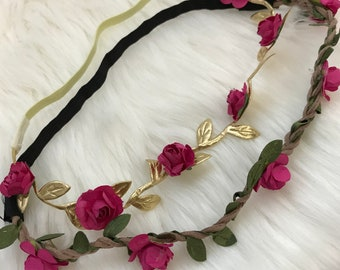Mommy and me floral headband