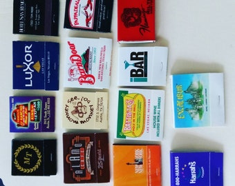Matchbooks with Matches 1990s