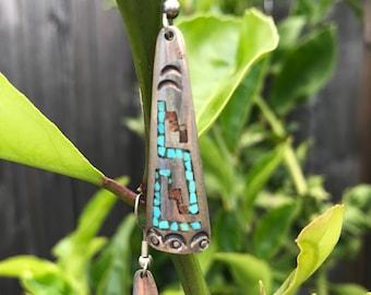 Vintage Native American made earrings