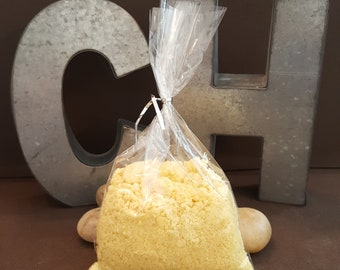 Fizzy Bath,Bath Bomb In A Bag,Scented,Gifts for Her,Mothers Day,Birthday,Baby Shower,Handmade,Yellow Lemon,Free Shipping
