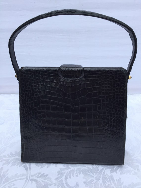 Elizabeth Arden Alligator bag
