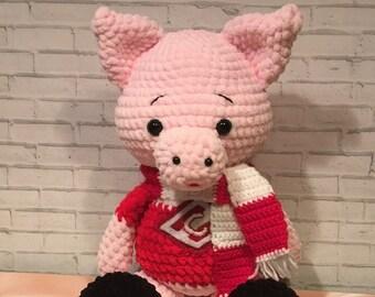 Piggy Children's toys Soft toys The first toy Favorite toy        Soft toy Goods for children Gifts for children Plush miracle  Children