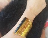 Fascini di Pietra Onyx Bangle Long Cabochon Gemstone