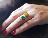 Elegance Agate Ring For Woman