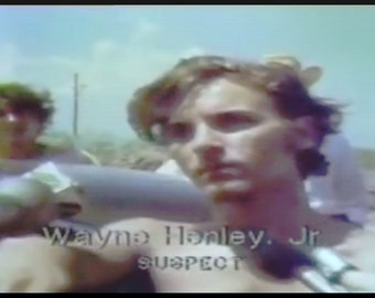 Elmer Wayne Henley 11 by 8.5 photo paper print