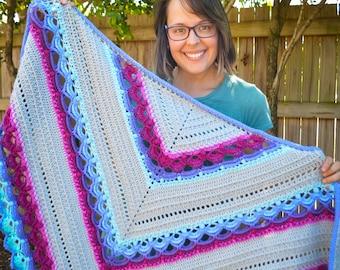 The Winifred Shawl - Crochet Pattern