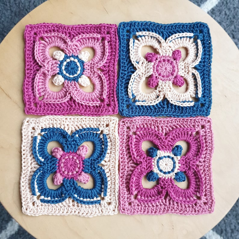 Celtic Clover Crochet Pattern  By The Loopy Stitch image 0