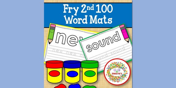 Sight Words Sight Word Activity Worksheets Fry S 2nd Etsy