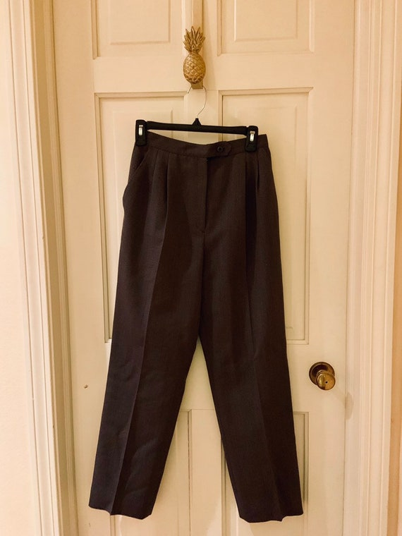 Vintage Wool Trouser Pants
