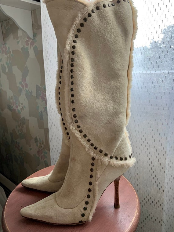 Vintage Jimmy Choo Stiletto Boots