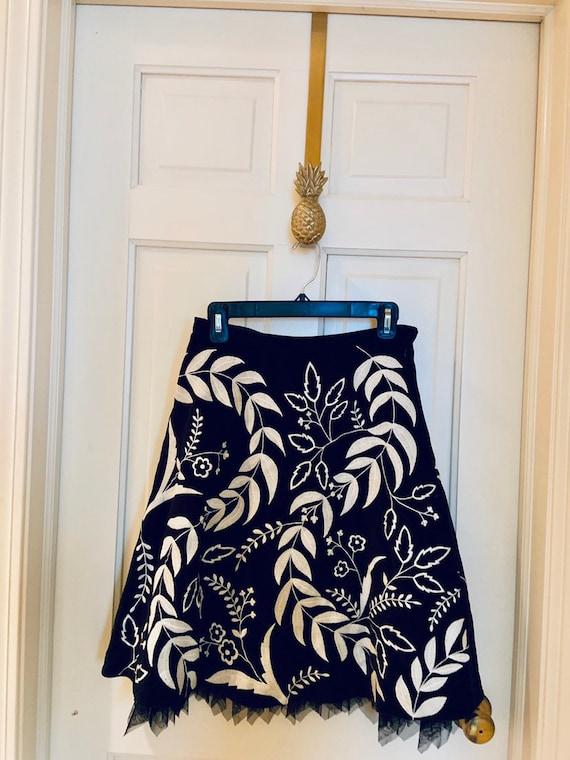 Vintage Odille Anthropologie Skirt