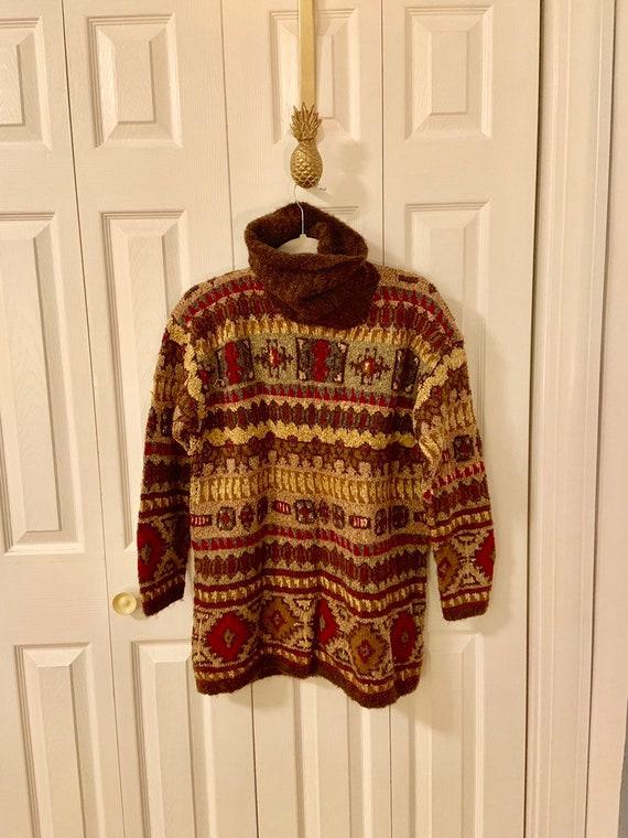 Vintage DKNY Hand Knit Sweater