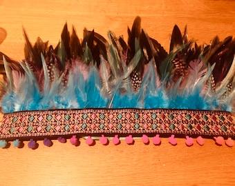 Bespoke feather headdress