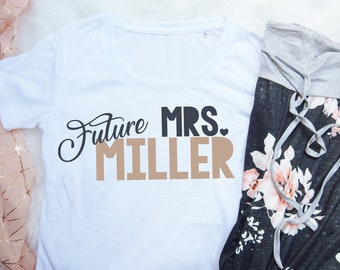 1f7a0b84a5 Future Mrs personalised wedding pyjamas