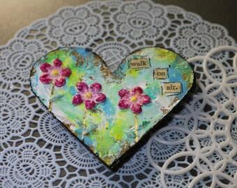 Art Heart Magnet