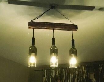 Kronleuchter Mit Flaschen ~ Grey goose flaschen licht bottle lamp bottle light etsy