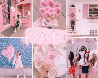 Candy Pink Preset | Instagram Preset, Blogger Preset, Pink Filters, Instagram Blogger Pink Lightroom Presets