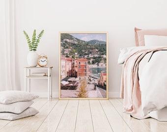 French Riviera Print, Cote d'Azur poster, South of France print, France print, Travel print, French riviera travel print