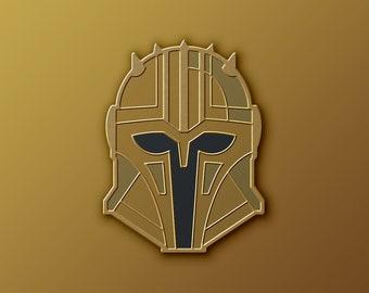 Mandalorian Armorer Soft Enamel Pin