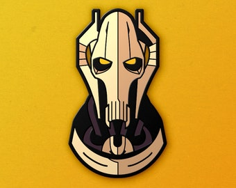 General Grievous Soft Enamel Pin