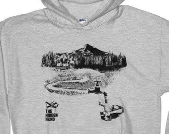 Water Fluoridation Hoodie, Graphic Hooded Sweatshirt, Cotton Unisex Hoodie