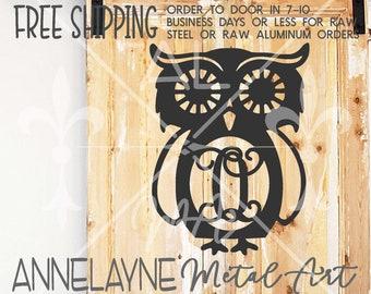 Owl Cigar Plasma Metal Sign