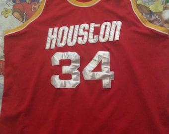 Vintage Hakeem Olajuwon Houston Rockets Jersey 94619bb70
