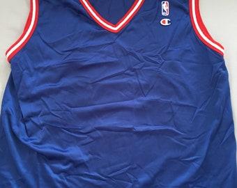 Vintage blank champion nba jersey Philadelphia 76ers size mens XL 48