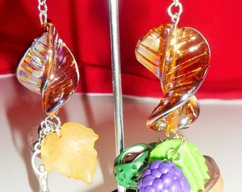 Modron Goddess Autumn Equinox Earrings