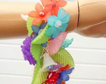 The Goddess At Litha - Summer Solstice Celebration Bracelet