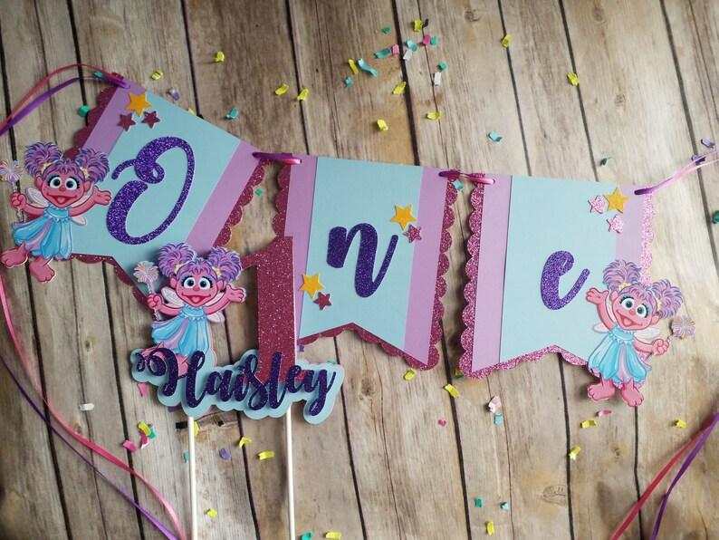 Fine Abby Cadabby Cake Topper Abby Cadabby Birthday Abby Cadabby Etsy Personalised Birthday Cards Veneteletsinfo