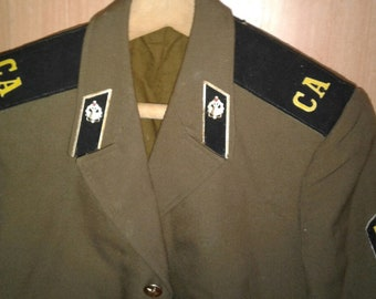 ceremonial clothes of the Soviet army. the USSR. two forms in one lot.