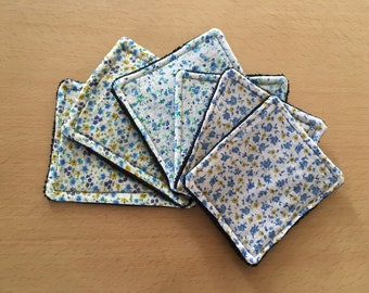 Washable wipes in a set