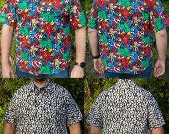 90628069 Custom Made Hawaiian Shirts