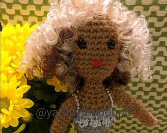 Handmade Beyonce Doll (BET Awards: Deja Vu)