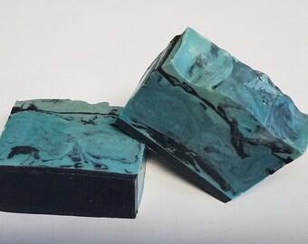 Dark Waters Mens Homemade Glycerin Soap