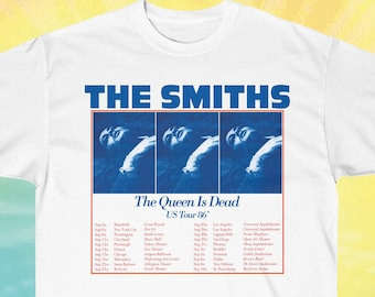 a87366fe605b The Smiths T shirt, queen is dead shirt, vintage tshirts, us tour 86 t shirt,  rock band t shirts, 80s clothing, grunge, gift for her, tumblr