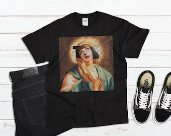 2dc3e611f Virgin Mia Shirt, pulp fiction shirt, asthetic clothing, mia wallace shirt,  tumblr clothing, aesthetic gifts, tumblr shirt, oversized shirts