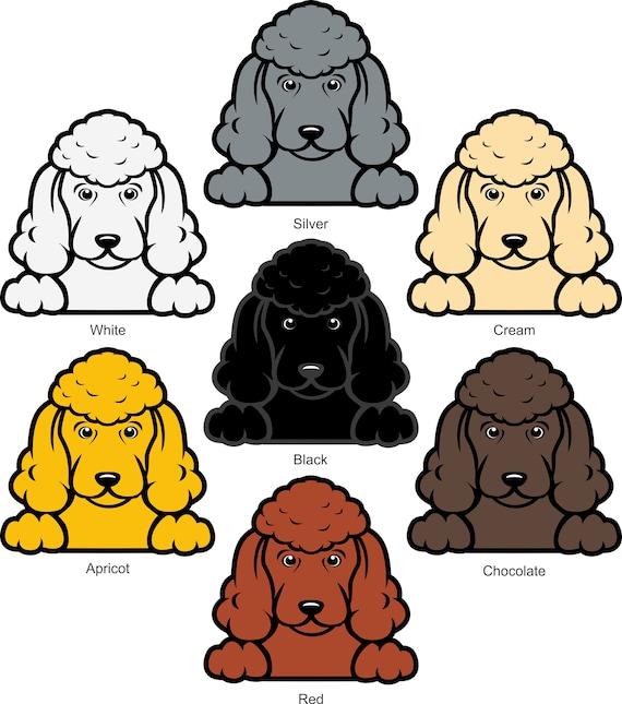 "dog breed rescue 6.5/"" SAMOYED vinyl decal car window laptop sticker"