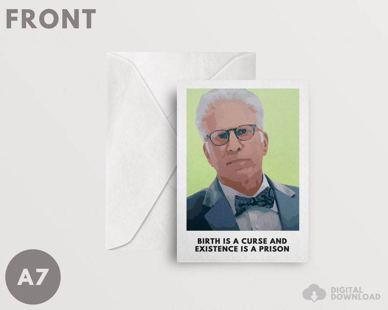 The Good Place Card A7