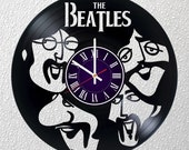 The Beatles Music Band Vinyl Record Wall Clock room wall decor Art Gift Modern Home Decoration