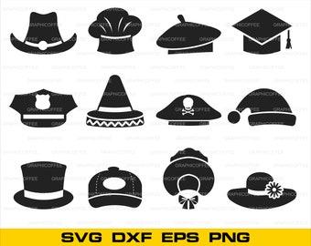 2ae803a659164 Hats logo SVG Bundle