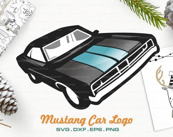 Mustang Logo Svg Clipart Cut Files Vector Car Logo Etsy