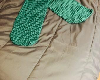 Sea-foam Green Scarf