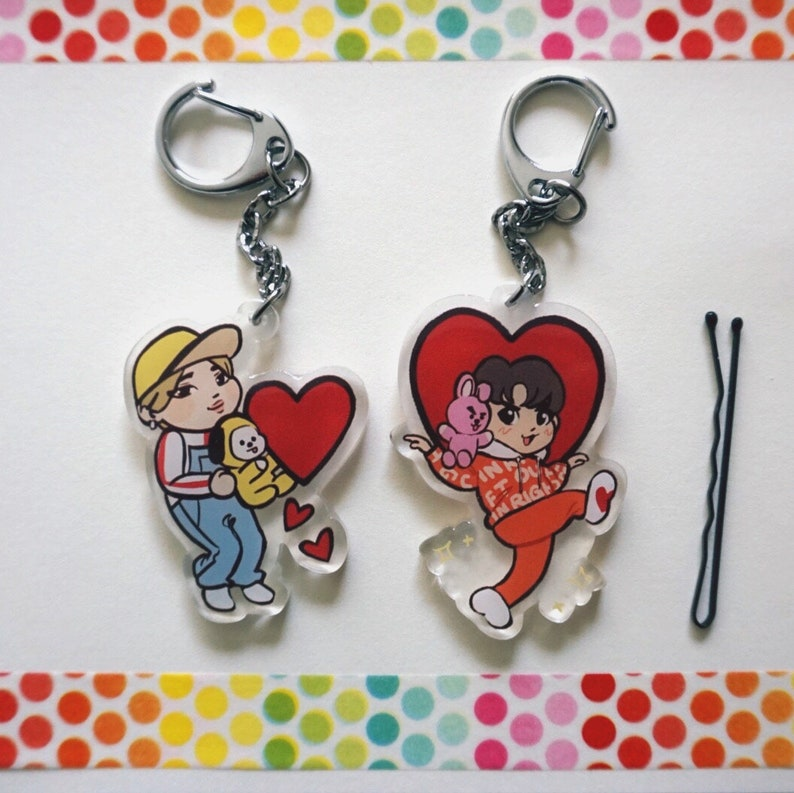 BTS Keychains/Charms (Sope, GOGO/BT21, 3rd Muster, BST)