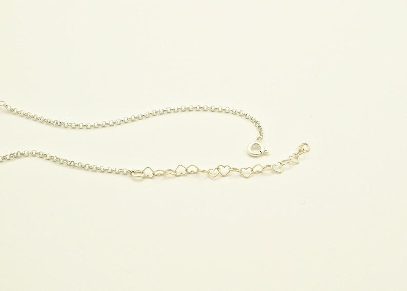 Anklets for Women Crescent Moon Ankle Bracelet Celestial Jewelry Silver Anklet Ankle Bracelet for Women Sterling Silver Ankle Bracelet