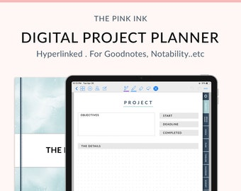 Project planner | Etsy