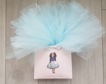 party decoration Little Black Girl tutu Partybag Ethnic party set tutu Party princess Little Browngirl Birthday Favour Partybag